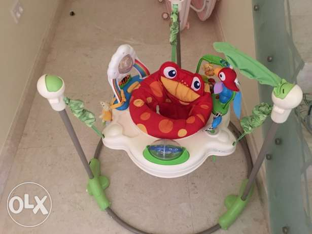 Fisher price Jumperoo مسقط -  1