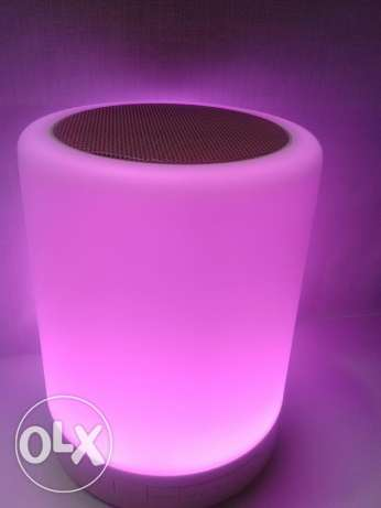 Touch lamp bluetooth speaker السيب -  3