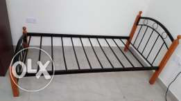 6 Months Old Metal Cot in Excellent Condition