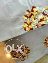 Brand new king size Embroidery duvet covers with two Pillowcase