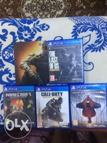 Best PS4 CDs for sale مسقط -  1