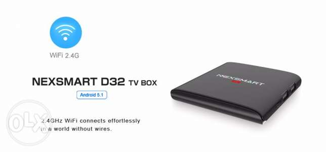 The bes offer for NEXSMART Android TV Box with kodi مسقط -  5