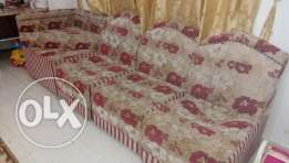 3 seater sofa for sale with one tea sider