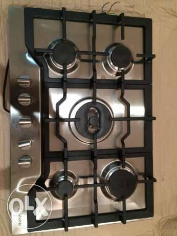 CookTop - Scholtès 700mm Cast Iron Gas Hob مسقط -  1