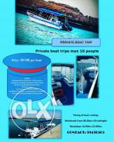 Rent your Boat of the day and night