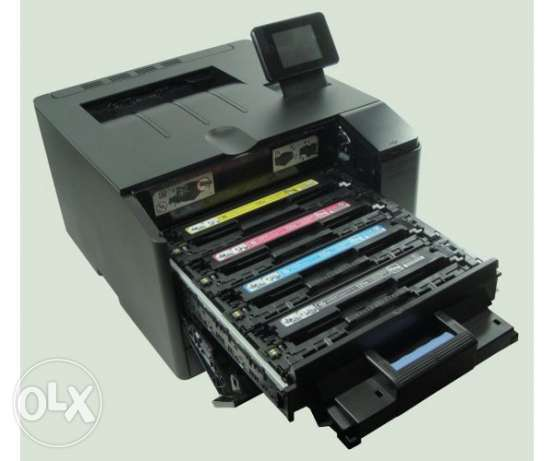 Clearance Sale HP Laserjet Pro 200 Color M251nw Printer مسقط -  2
