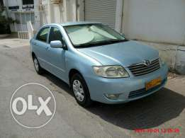 Toyota Corolla 1.8 Xli 2005 used by Expat