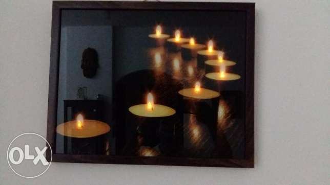 Wall Pictures - 6 Nos (1 with lights) from Home Centre مسقط -  1