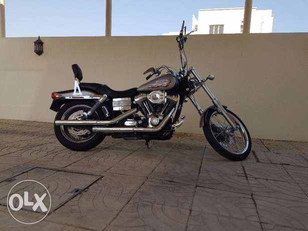 Harley Davidson Wide Glide...very clean and low mileage مسقط -  2