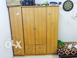14 Cupboard n dressing table in good condition .