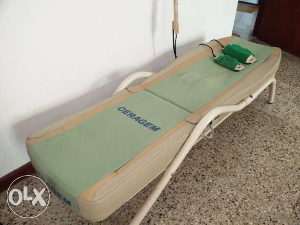 Ceragem Master CGM-M3500 Massage Bed with a 3 and a 9 Jade Spherical P مسقط -  2