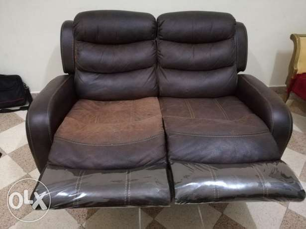 Sofa 2 seated recliner