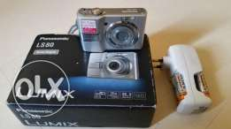 Panasonic Lumix Digital Camera with accessories