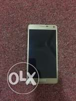 Samsung note 4 gold color 32GB excellent condition