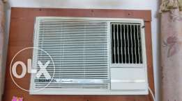 O GENERAL window ac big compressor 1.5 ton gud cooling condition