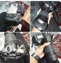 Nikon D90.lens 18-105..with everything