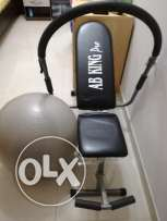 ABS exercise equipment & exercise ball