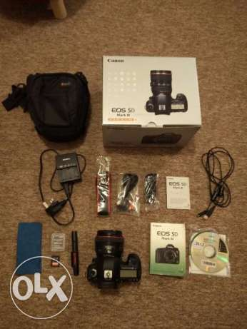 Canon 5d mark iii with accessories bundle مسقط -  1