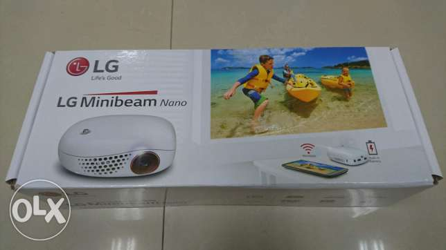 LG portable projector made in Korea