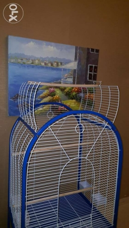 A New Large Open-top Parrot Cage 1.7 m High For Sale