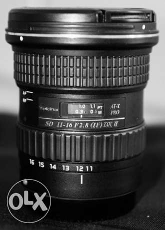 Tokina 11-16mm f2.8 Ultra wide Lens for Canon مسقط -  1
