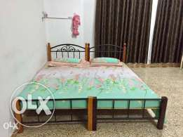 King size bed,made of joining two single bed... Location-Mawaleh South