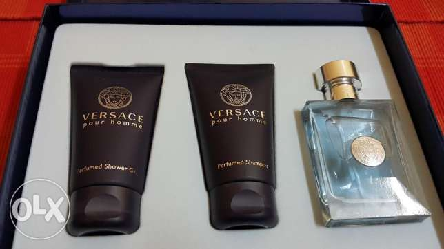 versace EDT set for men