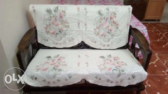Compact Sofa Set for Sale (3+2+1) - Homewell مسقط -  1