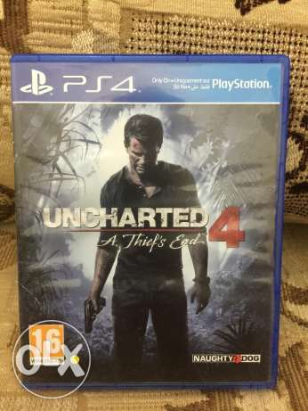 PS4 Uncharted 4 مسقط -  1