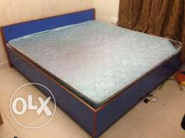 Cot Bed With Free Mattress Size : 190 X 180