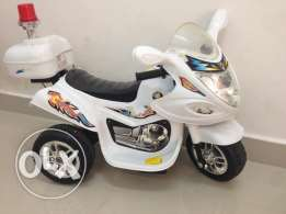 Kids bike with rechargeable battery for sale