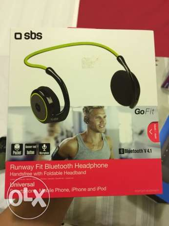 SBS Bluetooth Headphone