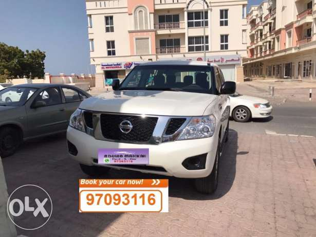 SUV car for daily rent Nissan Patrol 2016