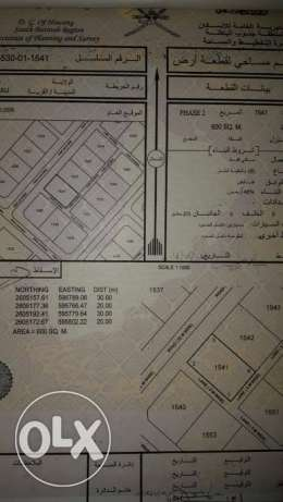 Investment land in AL FULAIJ for future for sale 600 sqm السيب -  1