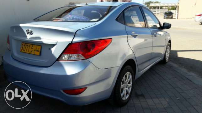 hyundai accent for sale in good condition السيب -  1