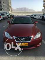 Lexus IS 300 (Model 2010) from saud bahwan. First expat owner!