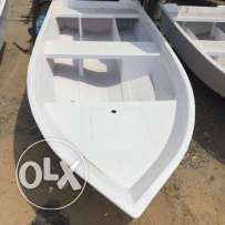 Boat 11 feet, fiber glass