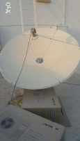 Dish with LNB for Pakistani channels. 2 pcs available for sale.