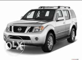 Wanted NISSAN PATHFINDER above 2012أراد نيسان باثفايندر