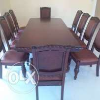 10 seater dining table with buffet