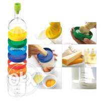 kitchen 8 in 1 bottles for many purposes-cutting, peeling, juicing