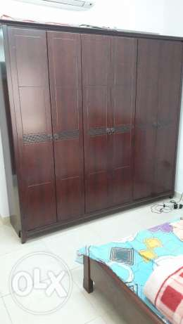 wardrobe wooden 6 door