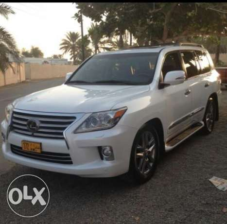 My lexus lx570 white is available