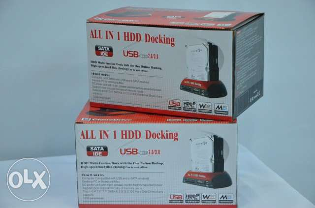قارئ لهاردسكات ALL IN 1HDD Docking