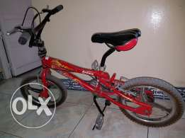Cyckle for childern age 7 to 12 years Not much used Bought 38 omani ri