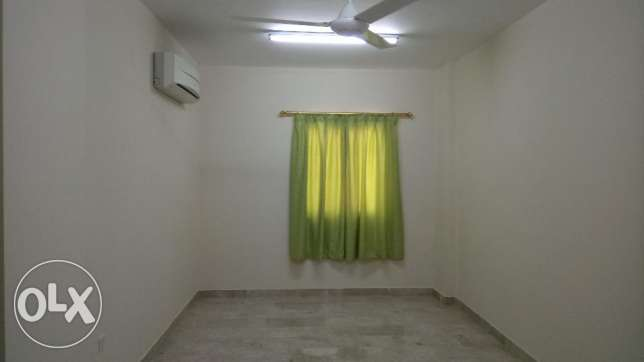 Master bedroom with attached toilet: flat sharing with keralite family