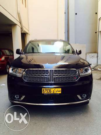 Urgent sale Dodge Durango driven 48500 km. Good condition. مسقط -  1