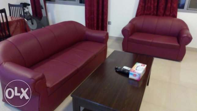 Sofa set 3+2+1+1 , Seven seater مسقط -  4
