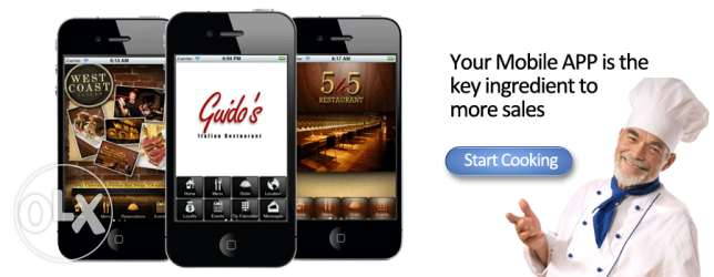 Increase your restaurtant sales by 50% by mobile application