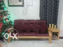 Sale of sofa set-3+2+1+1+center & side table (at wattayah)